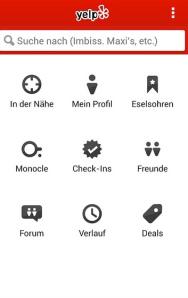 Yelp App für die Wiesn