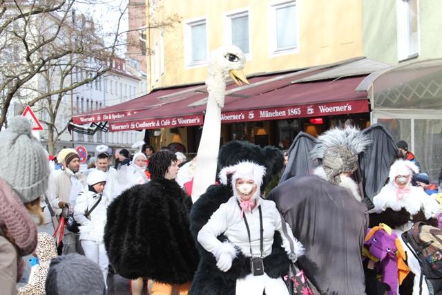 Faschingsumzug in München (30)