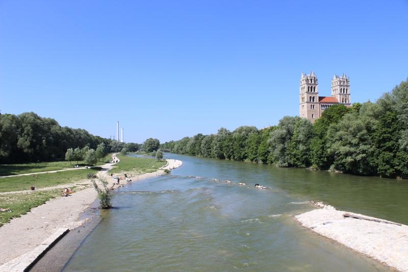 von der Reichenbachbrücke aus gesehen