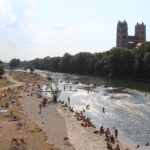 Wo kann man in München draußen kostenlos baden gehen?