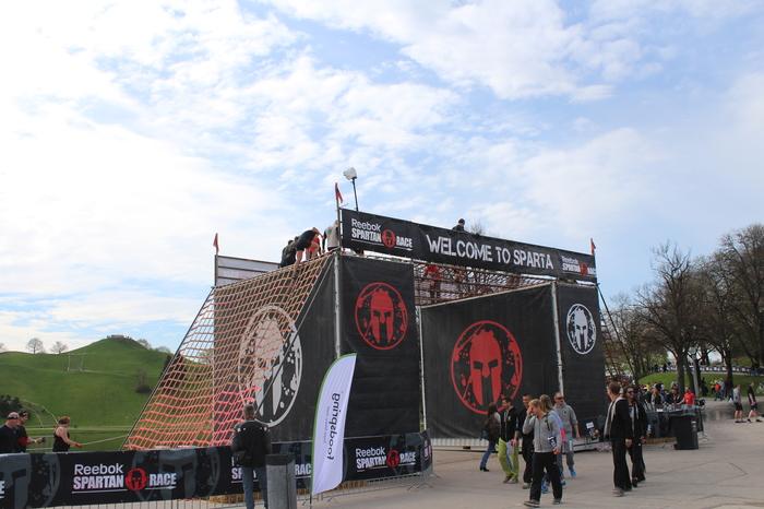 Spartan Race Klettergerüst