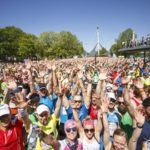 Respekt: 8000 Läufer beim Wings for Life World Run in München