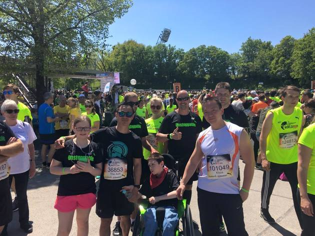 Athletes for Charity beim Wings for Life