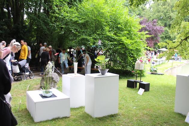 Kunstausstellung beim Japanfest
