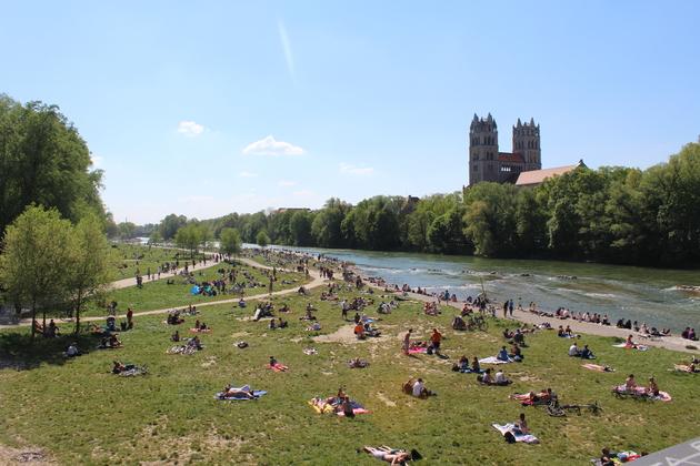 Sommer in München