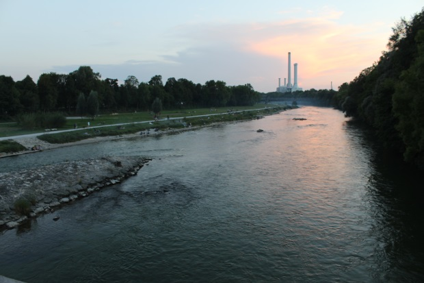 Isar in München