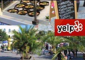 Top Locations auf Yelp