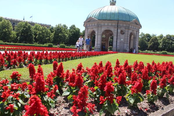 Hofgarten am Odeonsplatz