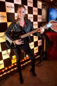 Maria Imizcoz im Hard Rock Cafe München