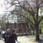 Klettern beim Spartan Race
