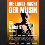 Die Lange Nacht der Musik im Mai 2017