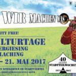 Kulturtage 2017 in Untergiesing-Harlaching  bei freiem Eintritt