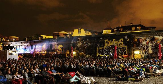 Kino Open Air im Viehhof