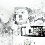 Scribblitti – Geschichten, Träume, Erinnerungen auf kunstvolle Weise auf die Wand gezeichnet