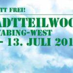 Stadtteilwoche in Schwaing-West im Juli