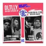 Don't Let The Label Label You auf dem Hip Hop Kemp – DLTLLY Birthday Bash