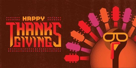 Happy Thanksgiving im Hard Rock Cafe