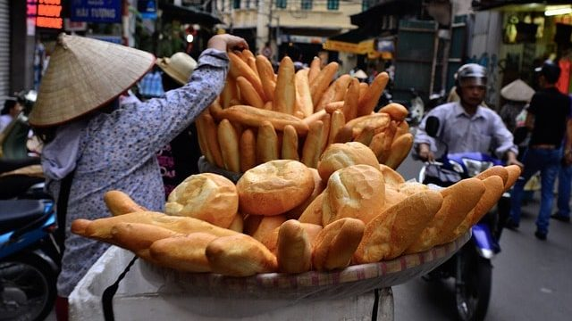 Bread in Vietnam