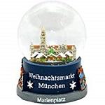 Souvenir Schneekugel Weihnachtsmarkt München – 30021