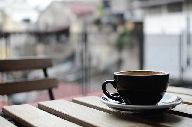 Kaffee genießen