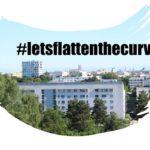 Coronavirus / Covid-19 Krise: #letsflattenthecurve in München