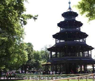 Biergarten Chinesicher Turm