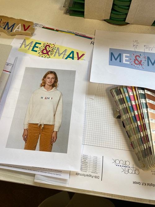 Me & May Entwürfe