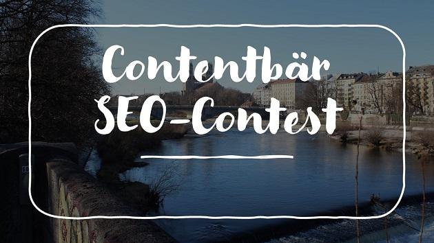 Contentbär SEO Contest München