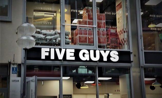 Five Guys Filiale München City