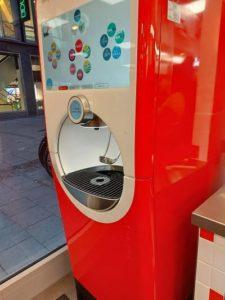 Five Guys Refill Getränkeautomat