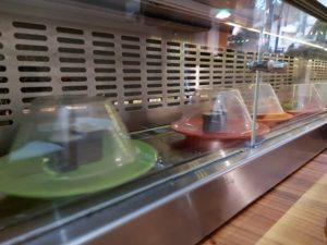 Running Sushi im Tsuki Ji