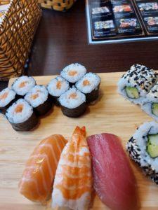 Sushi Menü im Asia